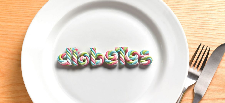 diabetes on plate