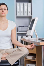 desk yoga benefits