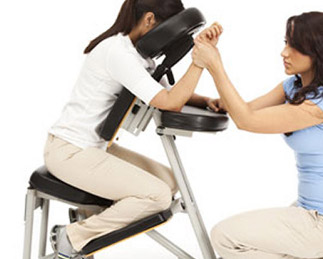 seated massage at events