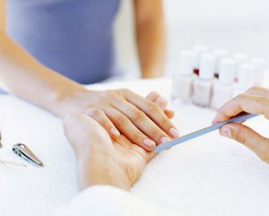 manicure at event