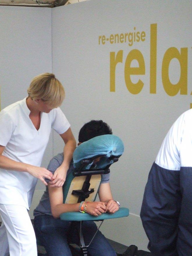 Thames festival events massage